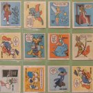 1974 Disney Wonder Bread Stickers Lot of 12