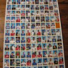 1990 Bowman uncut baseball card sheet-Board 5 & 6