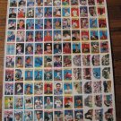 Rare 1989 TOPPS uncut baseball card sheet-Board 11 & 12