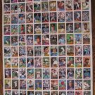 Rare 1989 TOPPS uncut baseball card sheet-Board 3 & 4