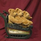 Artist Lillian Hahn Presents Mohair 3 Bear Bears Bundle