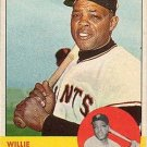 1963 Topps #300 Willie Mays Baseball Card