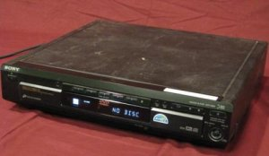 Sony DVP-C660 5-disc CD/DVD Player w/o Remote