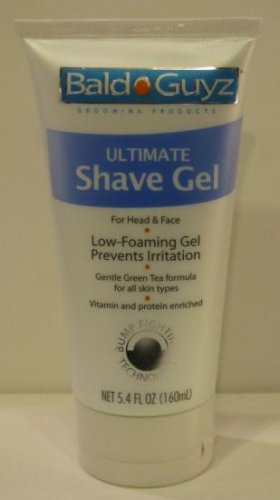 NEW BALD GUYZ ULTIMATE SHAVE GEL Size: 5.4 OZ