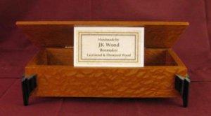 JK Wood Box Lacewood & Ebonized Wood