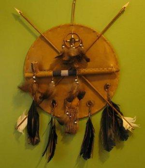 Peace Pipe Native American Dream Catcher Medicine Wheel