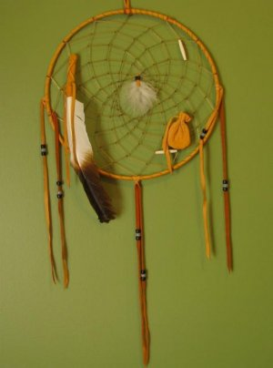 Native American Medicine Wheel Dream Catcher