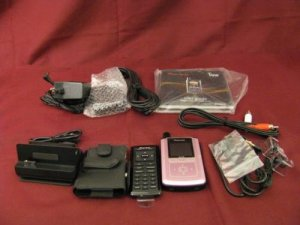 Pink Pioneer GEX-INNO1 XM Portable Radio with MP3