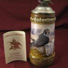 1992 Budweiser Birds Prey Peregrine Falcon Lidded Stein