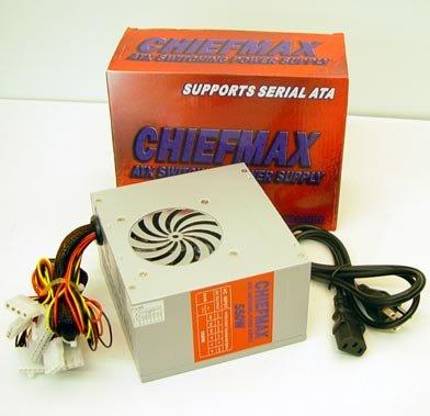 ChiefMax Dual Fan 650 Watt ATX Switching Power Supply w/ SATA Connector