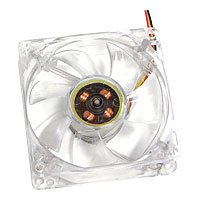 PowMax Typhoon 80 MM Case Fan with 4 White LED lights