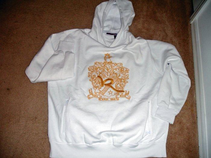 Rocawear White Cotton Hoodie (2XL)
