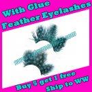 Feather Eyelashes SA-01