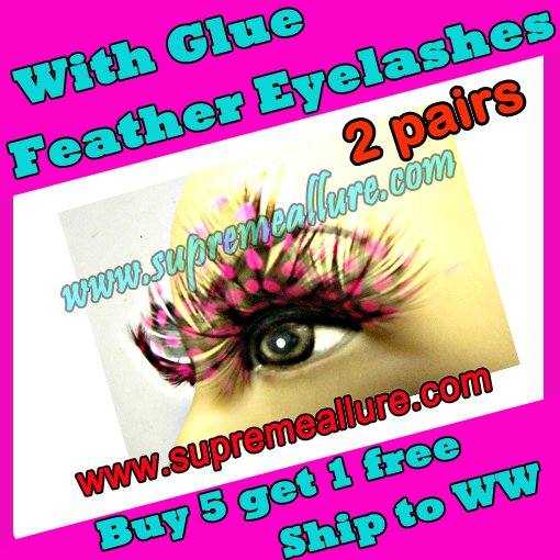 Feather Eyelashes SA-11