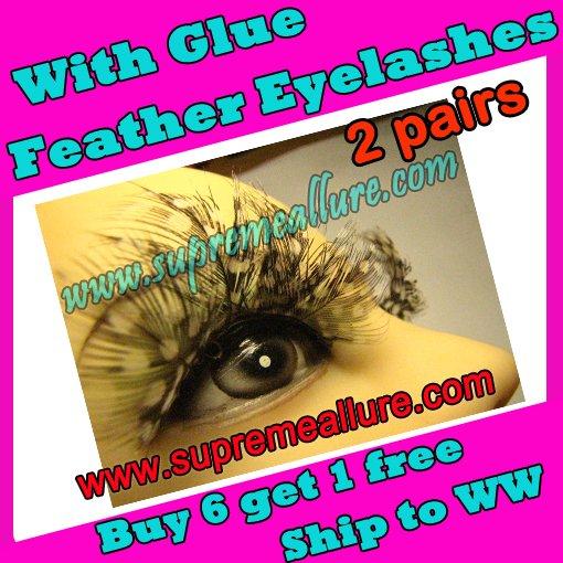 Feather Eyelashes SA-12