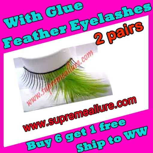 Feather Eyelashes SA-19