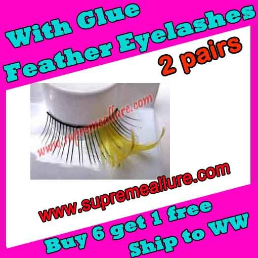 Feather Eyelashes SA-21