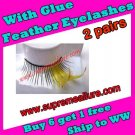 Feather Eyelashes SA-21
