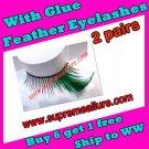 Feather Eyelashes SA-22
