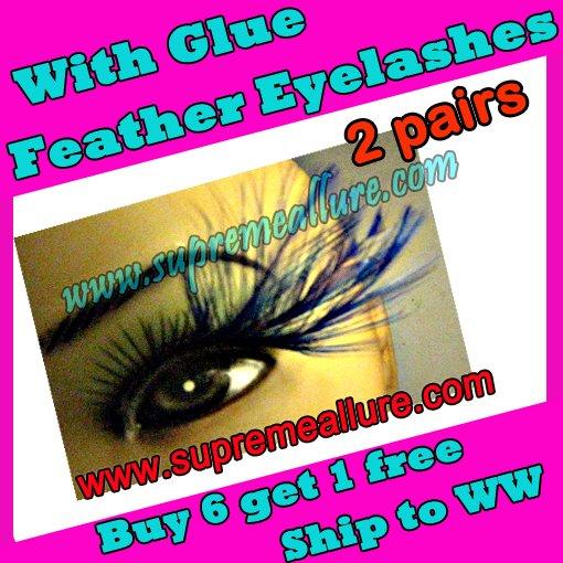 Feather Eyelashes SA-24