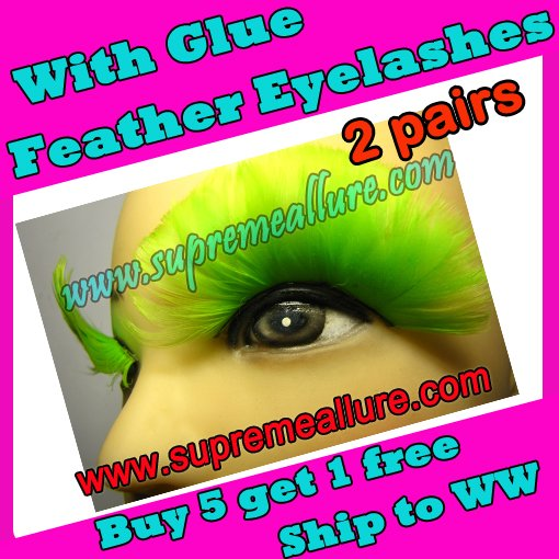 Feather Eyelashes SA-33