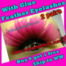 Feather Eyelashes SA-37