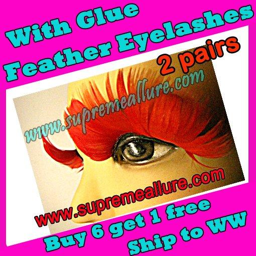 Feather Eyelashes SA-38
