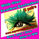 Feather Eyelashes SA-39
