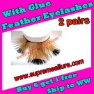 Feather Eyelashes SA-45