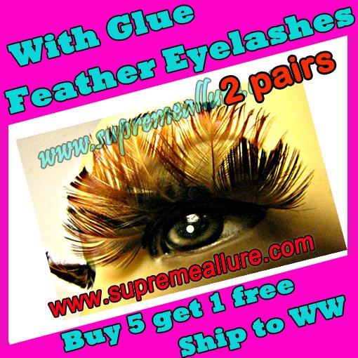 Feather Eyelashes SA-46