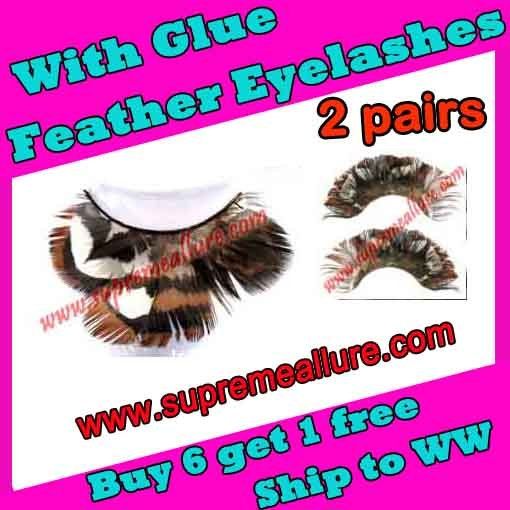 Feather Eyelashes SA-48