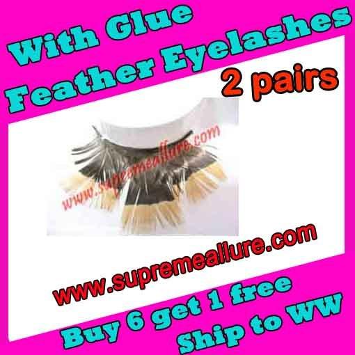 Feather Eyelashes SA-49