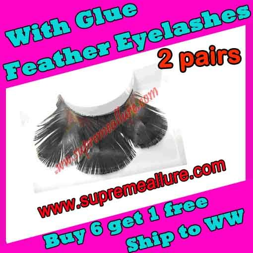 Feather Eyelashes SA-52