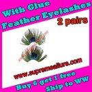 Feather Eyelashes SA-54