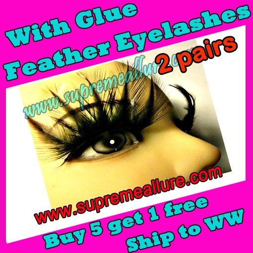 Feather Eyelashes SA-60
