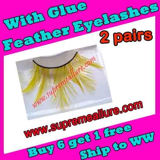 Feather Eyelashes SA-61