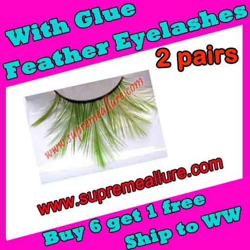 Feather Eyelashes SA-62