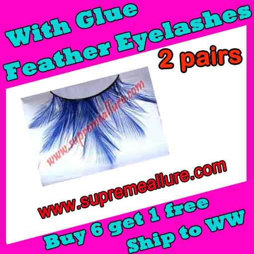 Feather Eyelashes SA-63