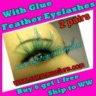 Feather Eyelashes SA-64