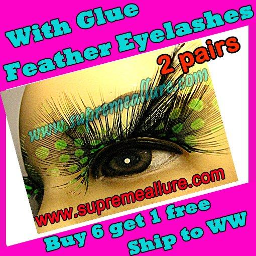 Feather Eyelashes SA-71