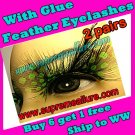Feather Eyelashes SA-71
