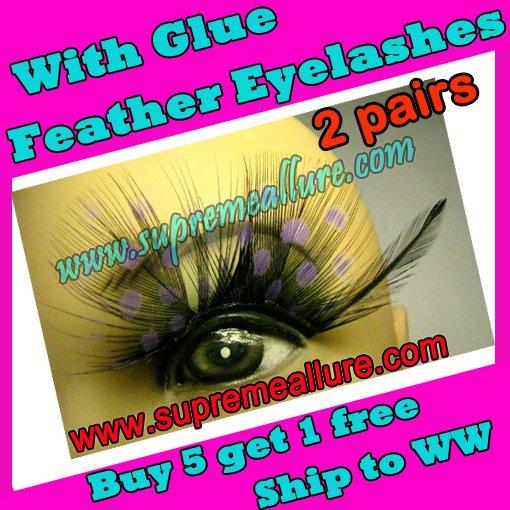 Feather Eyelashes SA-74