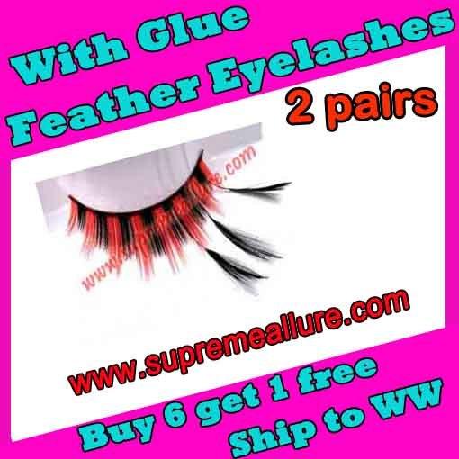 Feather Eyelashes SA-78