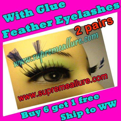 Feather Eyelashes SA-80