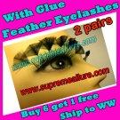 Feather Eyelashes SA-81