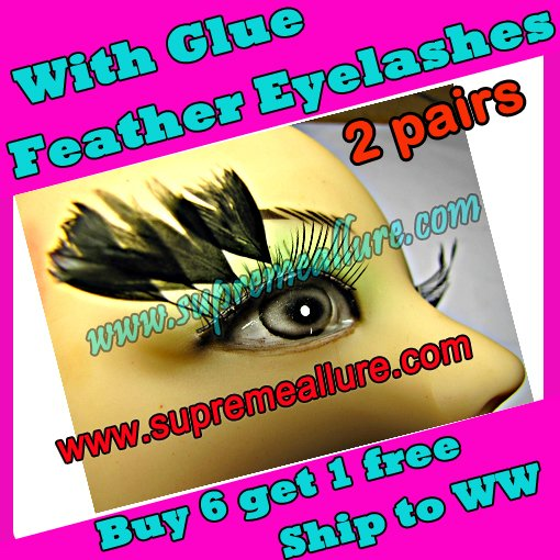 Feather Eyelashes SA-82
