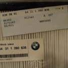 BMW Cabin Air Filter E34 E32 525i 540i 735i iL 740i iL 64-31-1-390-836