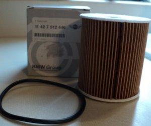 BMW Mini Cooper Oil Filter 11 42 7 512 446