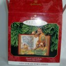 Hallmark Keepsake 1999 QX6447 Bible Series David & Goliath