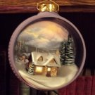 Hallmark 1997 QXI7545 The Warmth of Home Thomas Kinkade